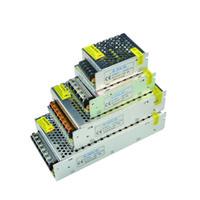 Wholesale 24v 25w - 24V Aluminum Body Transformer DC24V Led power supply 25W 40W 70W 120W 240W 360W 480W 600W AC110V 220V imput led power switch