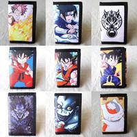 Wholesale Tail Ball Shorts - Anime Dragon Ball, Fairy Tail, Death Note, Final Fantasy, Spider Man, Natsume Yuujinchou, Naruto Short Polyester Mini Wallet Purse