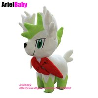 Wholesale Shaymin Plush - New Shaymin Figure Plush Doll Anime Baby Dolls Kids Toys Collection Spielzeug-Puppe Brinquedos 16cm Birthday Gift