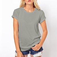 Wholesale Lazer Top - Wholesale- 2017 Summer Women's Tops T Shirts Fashion O-Neck Lazer Cut Angel Wings Short Sleeve T-Shirts Tops & Tees