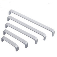 Wholesale Drawer Handles For Furniture - Doorknob Space Aluminum Alloy Door Handle For Furniture Cupboard Drawer Pull Knob Smooth Feel Good Bar Handles Modern Simple 1 3yt