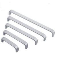 ingrosso cassetti moderni-Maniglia della porta in lega di alluminio maniglia della porta per mobili armadio cassetto estraibile manopola liscia sentire good bar maniglie moderna semplice 1 3yt