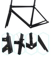 Wholesale China Roads - Super light carbon bicycle frameset 165 white sider road bike frame Torayca T1100 race bike framest bicycle frame made in china