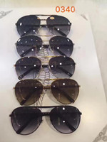 Wholesale frames decorative - Mens ATTITUDE PILOTE Z0340U SUNGLASSES with Decorative pattern lenes Designer Luxury Fashion Sunglasses Eye Wear Brand New with Case
