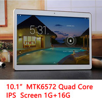 Wholesale Free China Call - 10.1 inch MTK6572 Dual Core 1.5Ghz Android 5 WCDMA 3G Phone Call tablet pc GPS bluetooth Wifi Dual Camera 4GB 64GB DHL FREE