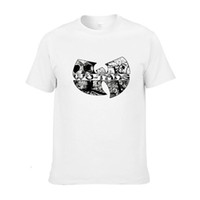 Wholesale Wholesale El Shirts - Wholesale- WU TANG hip hop skateboard streetwear Printed Mens Men T Shirt Camisetas Masculinas 2014 Manga Curta Camisa Masculina Tshirt