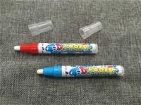 desenho caneta mágica venda por atacado-Nova chegada aqua do doodle Aquadoodle Magia Desenho Caneta Água Desenho Pen Substituição Mat adicionar a água frete grátis