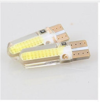Wholesale 158 Led - 100X T10 158 194 168 W5W COB 20SMD Silica Gel Led Car Interior Door Light Bulb NEW