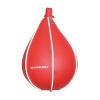 Wholesale New Product Punching Bag Workout Exercise Body Building PVC Inflatable with elastic rope Ceiling Boxing Speed Ball