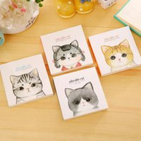 Compra Coperta Kawaii-Commercio all'ingrosso - 1X Kawaii Cat Portable Coperta Notebook Sketchbook Scrivere Disegno Scrapbooking Student Stationery Scuola Office Supply Gift