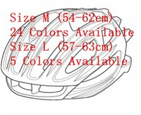Wholesale Road Bike Eps - OEM ODM Famous Brand Logo Bike Road MTB Aero Cycling Helemet Size M (54-60cm) Size L(57-63cm) 24 Colors Items Available for Selection
