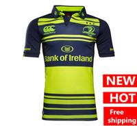 Wholesale Irish Rugby Shirt - DHL Free Shipping Hot sales Irish Rugby Jerseys 16 17 Irish Leinster Jersey T shirt s-3xl