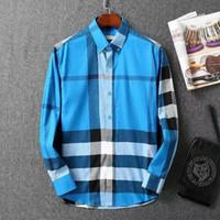 Wholesale Best Long Shirt Brand - hot sale Brand New Men's long sleeve shirt 100% cotton drop shipping best price best quality