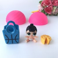 Wholesale Plush Toys China - Girls Dolls LOL Surprise Lil Sisters Series 2 Lets Be Friends Action Figures Toys Baby Doll Kids Gifts With Retail Box 111