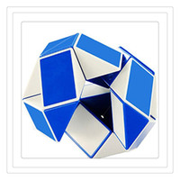 Wholesale Cube Games Free - Hot 3D Cube Puzzle Mini Magic Cube Creative 3D Snake Shape Toys Game Twist Puzzle Toy Intelligence Toys Magic Toys Games Free Shipping