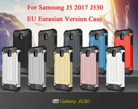 Wholesale Hot Pr - Hot For Samsung Galaxy J5 2017 J530F J530 EU Eurasian Version Case Hybrid 2 in 1 TPU+PC defender armor case For Samsung J5 Pr j530