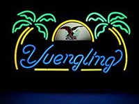 """Wholesale Neon Sign Eagles - New Yuengling Lager Eagle Real Glass Neon Light Sign Home Beer Bar Pub Recreation Room Game Room Windows Garage Wall Sign 19""""w *15""""h"""