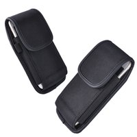 Wholesale Iphone Belt Loop Cases - 5.0 inch For Galaxy S8 Vertical Sport Belt Nylon Rugged Holster Moblie Phone Case Cover loop clip for iphone X 7 8
