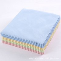 Wholesale tablet computers online - Microfiber Cleaning Cloth Square Hand Towel Or Lcd Screen Tablet Phone Computer Laptop Glasses Lens Eyeglasses Wipes Clean Cloths bp D