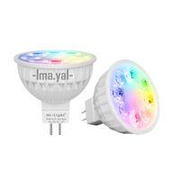 Wholesale mr16 rgb bulb for sale - New Arrival Original Dimmable G Wireless Milight Led Bulb mr16 RGB CCT Led Spotlight Smart Led Lamp Lighting AC DC V