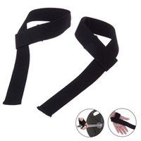 Sports Accessories 2Pcs Gym Power Training Weight Lifting Straps Wraps Hand Bar Wrist Support