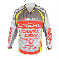 Wholesale Bmx Jersey Xl - Hot sell! NEW ONEAL Downhill Jersey MX MTB Off Road Mountain Bike DH Bicycle Cycling Jersey DH BMX motocross jersey