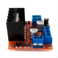 Wholesale L298n Stepper Controller - New Dual H Bridge DC Stepper Motor Drive Controller Board Module L298N