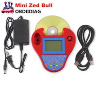 Wholesale Smart Key Transponder - Smart Zed Bull with Mini type Super Mini Zed Bull Key Transponder Programmer smart zedbull