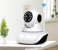 Wholesale Security Camera High Definition - The high-definition camera wi-fi home security camera plugs and the PTZ P2P night version of the indoor 720P camera phone remotely