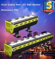 Wholesale Led Wall Washers Pricing - Factory price New Product hot sale DMX512 RGB 50W 100W 150W 200W outdoor led Wall Washer IP67 solar