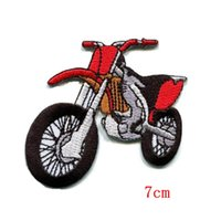 Wholesale Race Trim - Cross-country motorcycle racing in the Motocross race Wild and power Embroidered iron on patch
