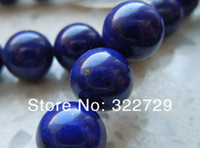 Wholesale AA High Quality Natural Blue Egyptian Lapis Lazuli Round Loose Beads mm Semi precious Stones