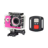Wholesale Homes Cost - Cost-effective With 2.4G remote control 4K Full HD 1080P WIFI H16R 2 inch LCD Action Sports Camera Camcorder 140D Waterproof 8PCS LOT