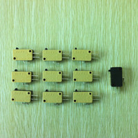 Wholesale Push Button Switch Yellow - New 100pcs in a tray of Replacement Three terminal Yellow ZIPPY micro-switch for Arcade Push Button switch