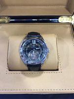 Wholesale Leather Men Under - hot Luxury Flywheel Watch mechanical watches, men love mechanical watches