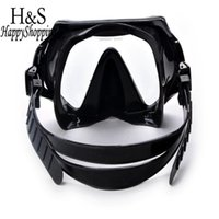 Wholesale ccessories handbag Brand New Underwater Scuba Diving Snorkeling Mask Swimming Glasses Set PU Silicone Tube Snorkel Mask Pool Equipment Ac