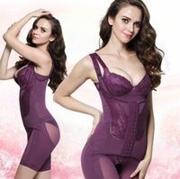 Wholesale Shapewear Body Suit - Magnet Shapewear Women Slim Shaper Body Shaper Slimming Plus Size Body Suit Slimming Underwear Abdomen Hip Body Corset