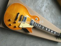 Wholesale G Maple - new High G- Standard Electric guitar with Flame Maple top, All Color are available