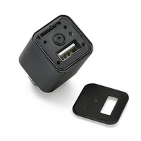 Wholesale Dvr Recorder Loop - HD 1080P Spy Camera USB Wall Charger Pinhole Video Recorder Mini AC Adapter DVR Nanny Cam Hidden Security Camcorder Support Loop Recording