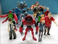 Wholesale Action Figure New - free shipping new arrive ben 10 Alien Action pvc figure set B0257