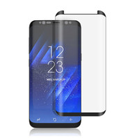 Wholesale Packaging Scale - Scaled Down Mini Tempered Glass For Samsung Galaxy S8 Plus Screen Protector Tempered Glass for Samsung 3D Curved Edge With Retail Package
