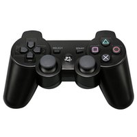 Wholesale force feedback online - Best Christmas Gift For Sony PS3 Controller Wireless Bluetooth Dual Vibration Gamepad For Sony Playstation Console Controle Mando Joystick