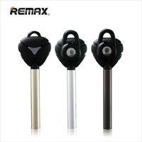 iphones achat en gros de-Remax RB-T3 Métal V4.1 Bluetooth Casque Smart Stéréo Casque Écouteur D'affaires Bluetooth Intra-auriculaires À Distance Obturateur Pour Samsung iPhones
