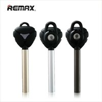 Wholesale Wholesale Silver Metal Headbands - Remax RB-T3 Metal V4.1 Bluetooth Headset Smart Stereo Headphone Business Earphone Bluetooth Earbud Remote Shutter For Samsung iPhones