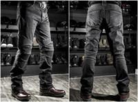 Wholesale Motorcycle Pants Komine - 2017 Wholesale price Komine jeans motorcycle jeans drop resistance slim denim jeans automobile Komine race pants motorcycle pants plus size