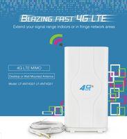 router usb modem großhandel-Großhandel 4G LTE Antenne 40dBi SMA Stecker Wireless für 4G Router HUAWEI B593 B970 E5186 B3000 Modem Antenne