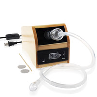 Wholesale Air Plugs - REANICE NEW Controllable Switch Aromatherapy Diffuser Air Freshener with wooden Chassis(Plug USA Standard) and Tobacco Grinder