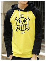 Wholesale one piece law costumes for sale - Group buy Kukucos Anime One Piece Law Hoodie Trafalgar Law Sweater Anime Hooded Jacket Cosplay Costum Best Gift For Jung Stundent Unisex