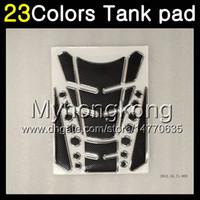 Wholesale Aprilia Stickers - 23Colors 3D Carbon Fiber Gas Tank Pad Protector For Aprilia RS4 125 RS125 06 07 08 09 10 11 RS 125 2006 2007 2008 2011 3D Tank Cap Sticker