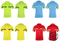 ingrosso camicie di migliore qualità-# 1007 Arbitro di calcio per uomo, arbitro di calcio, maglietta per arbitro di calcio con pantaloni 2017 migliore qualità